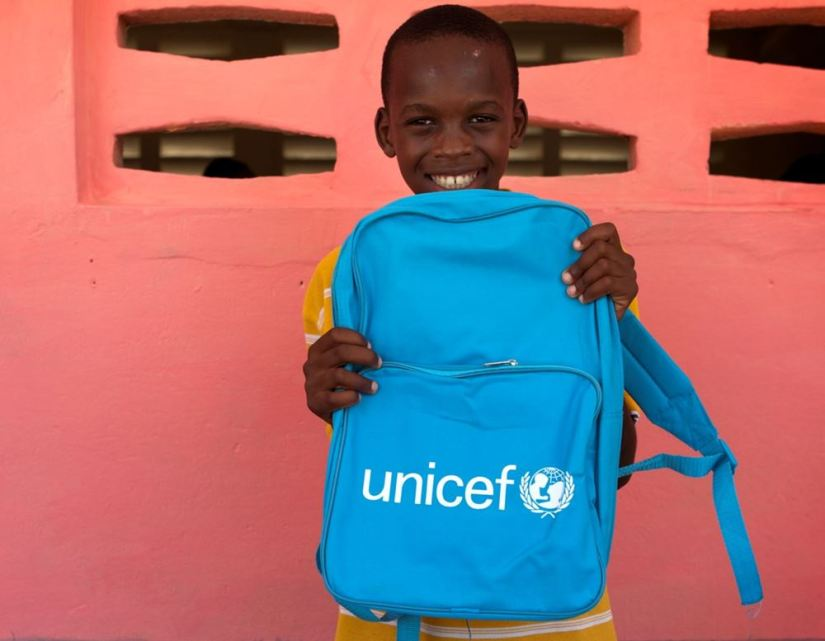 Unicef foto over
